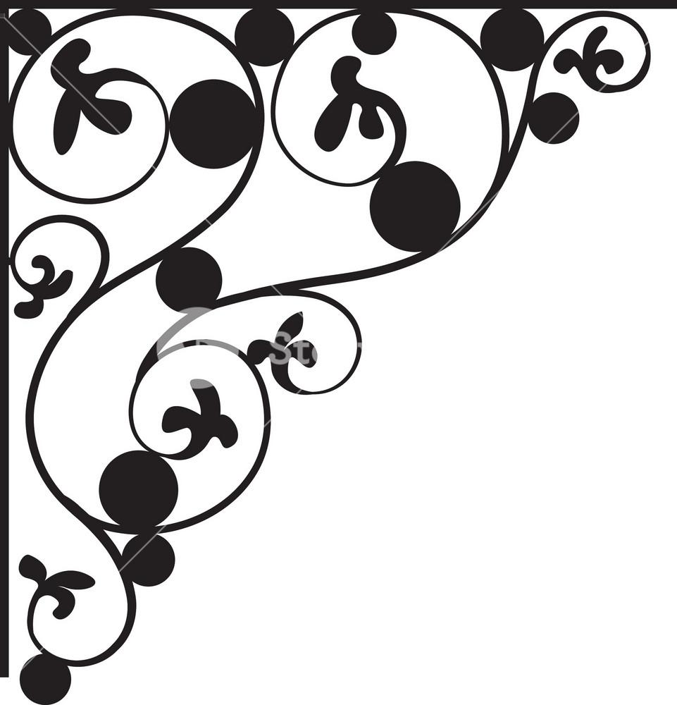 floral corner vector element royalty free stock image storyblocks https www storyblocks com business solution license comparison