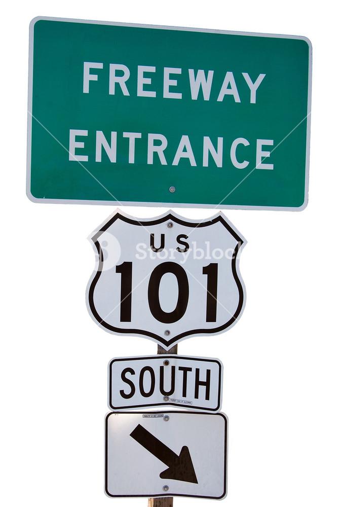 Freeway Entrance