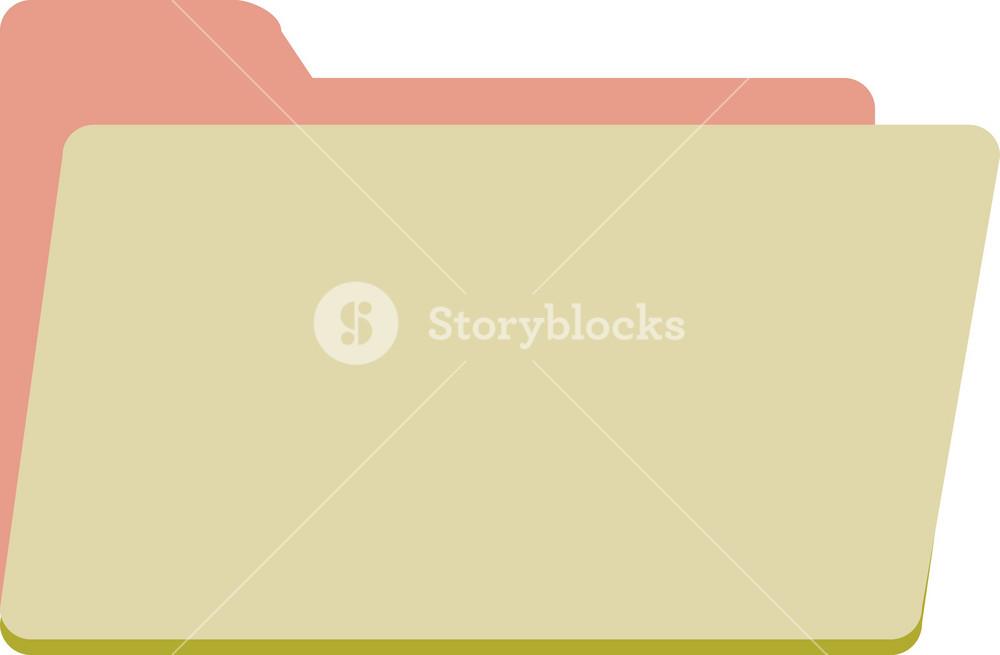 Funky Folder Open Icon