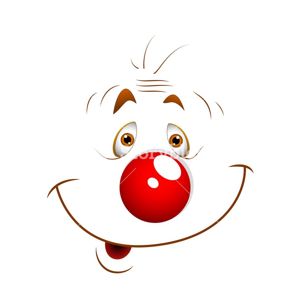 Funny Cartoon Joker Face Expression