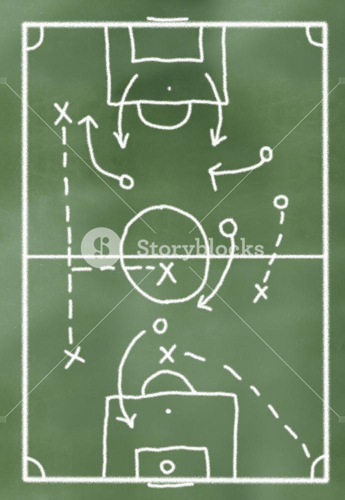 Game Plan On Greenboard