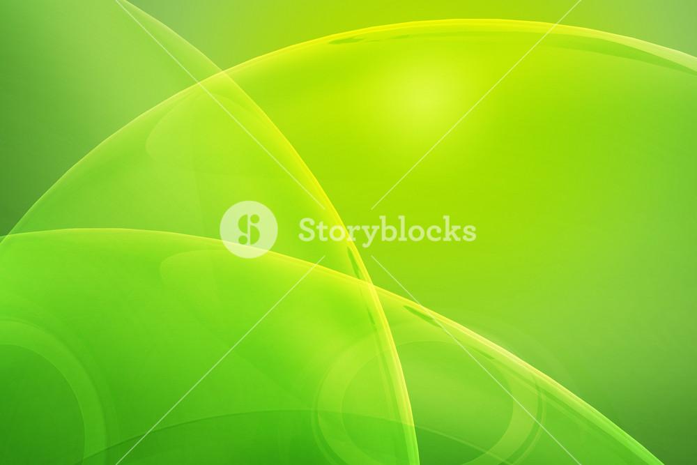Glass Green Background