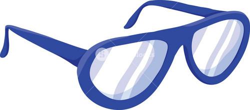 Glasses Vector Element