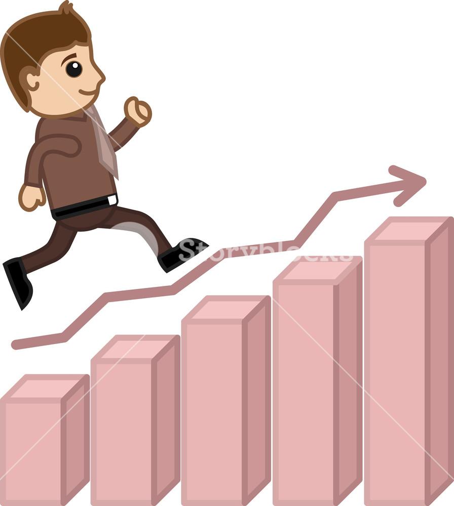going towards success business cartoon royalty free stock image storyblocks https www storyblocks com business solution license comparison