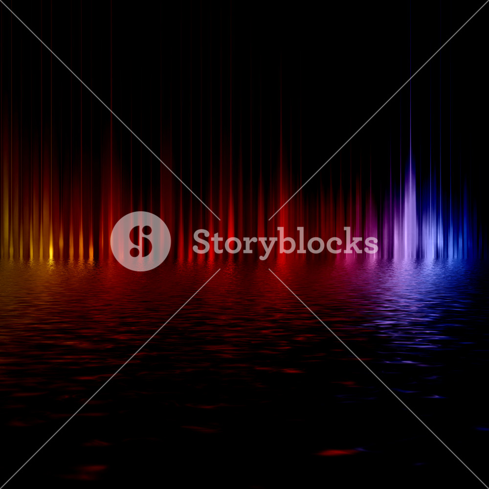 Abstract background with blurred magic color light rays.?