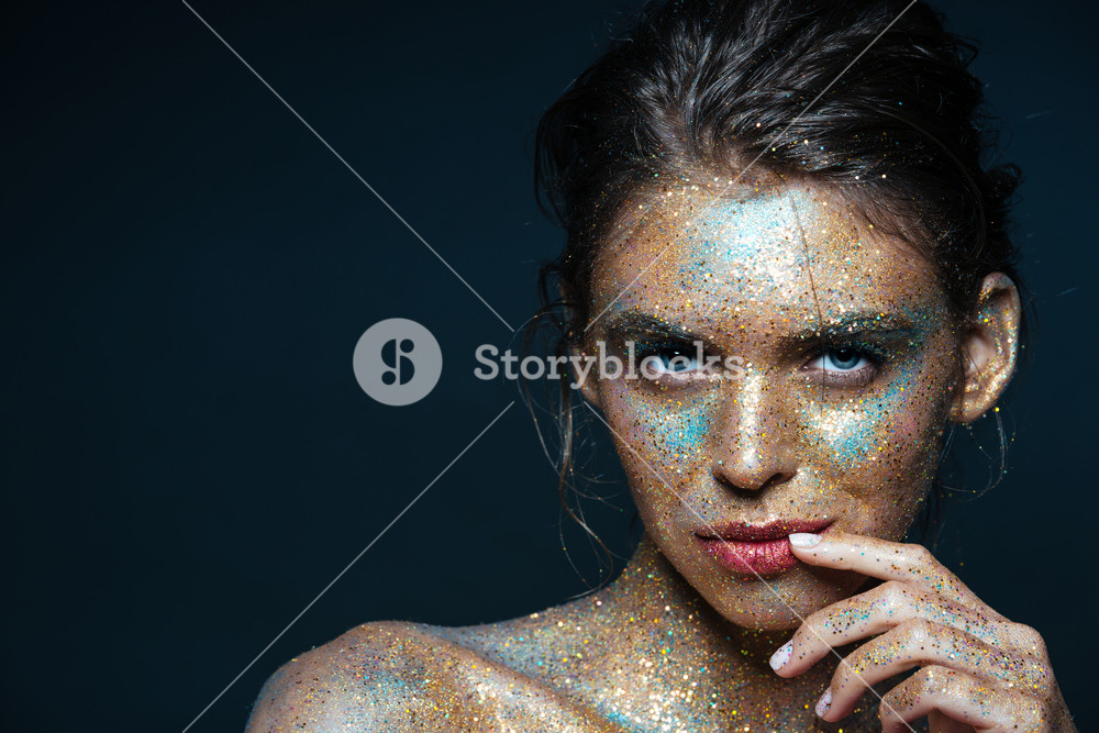 Beauty portrait of