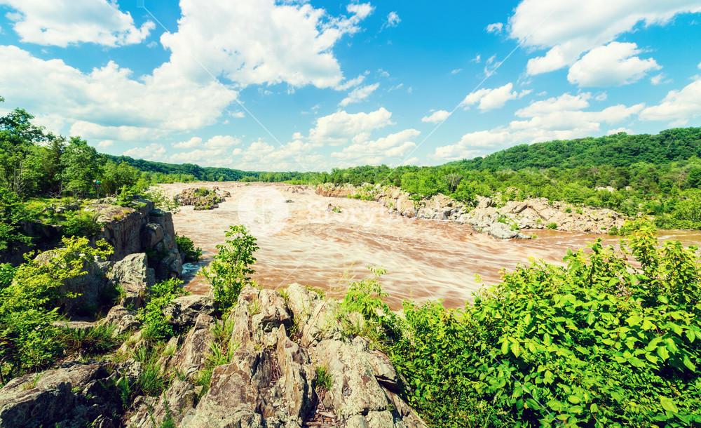 Great Falls National Park in Fairfax County, VA