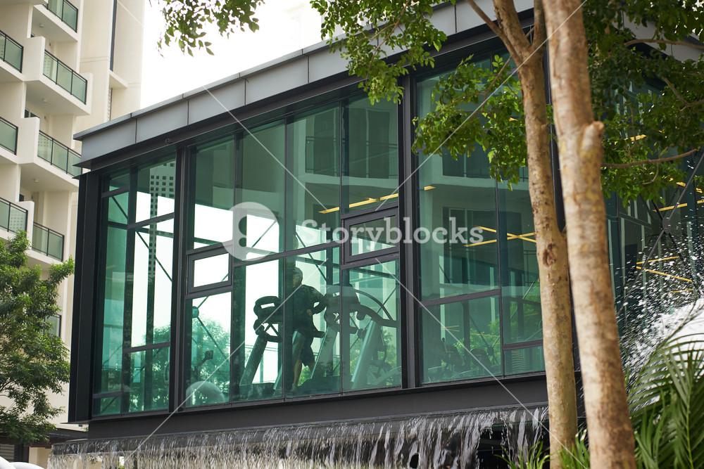 gym center exterior