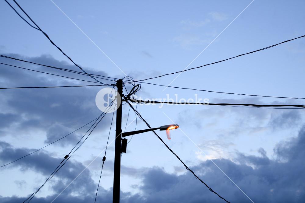 Street light background