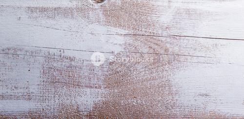White wooden plank as empty background.  Studio shot.
