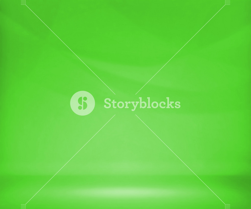 Green Photo Studio Background