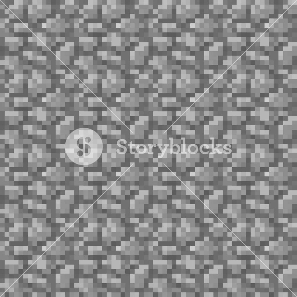 Grey Stone Minecraft Pattern Royalty Free Stock Image Storyblocks