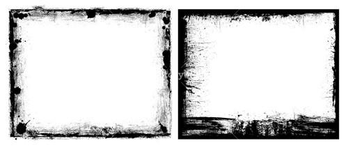 Grunge Frame Banners