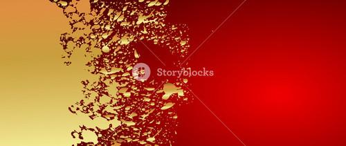 Grunge Golden Banner