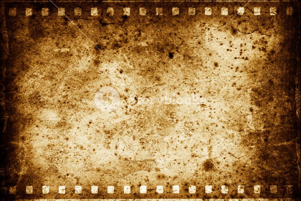 Grungy Film Strip Background