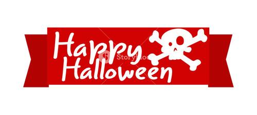 Halloween Ribbon Banner