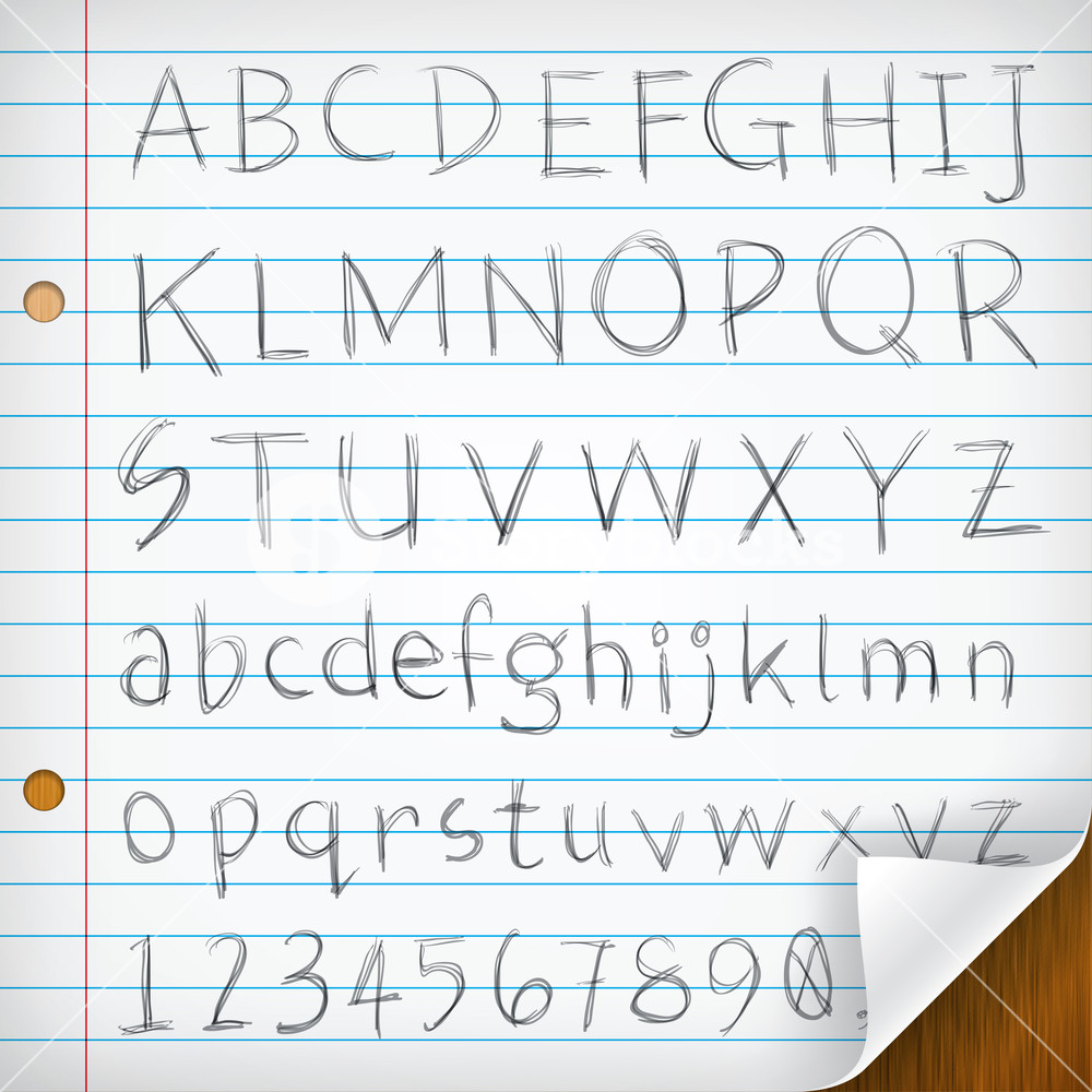 Free single line writing fonts