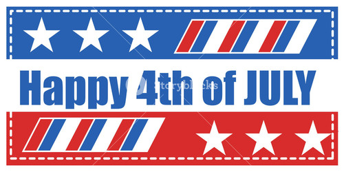 Happy 4th Of July Background Vector