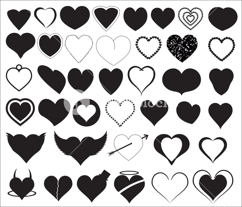 Hearts Shapes