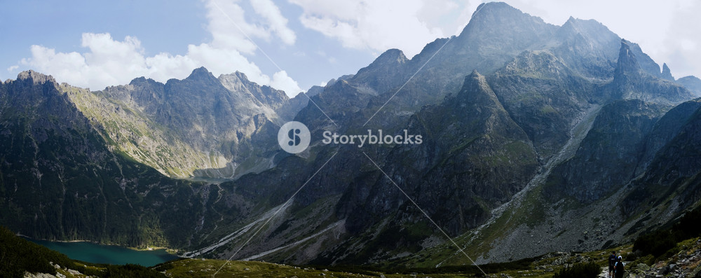 High Polish Tatra Mountains Picture