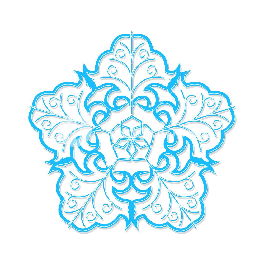 Holiday Winter Snowflake