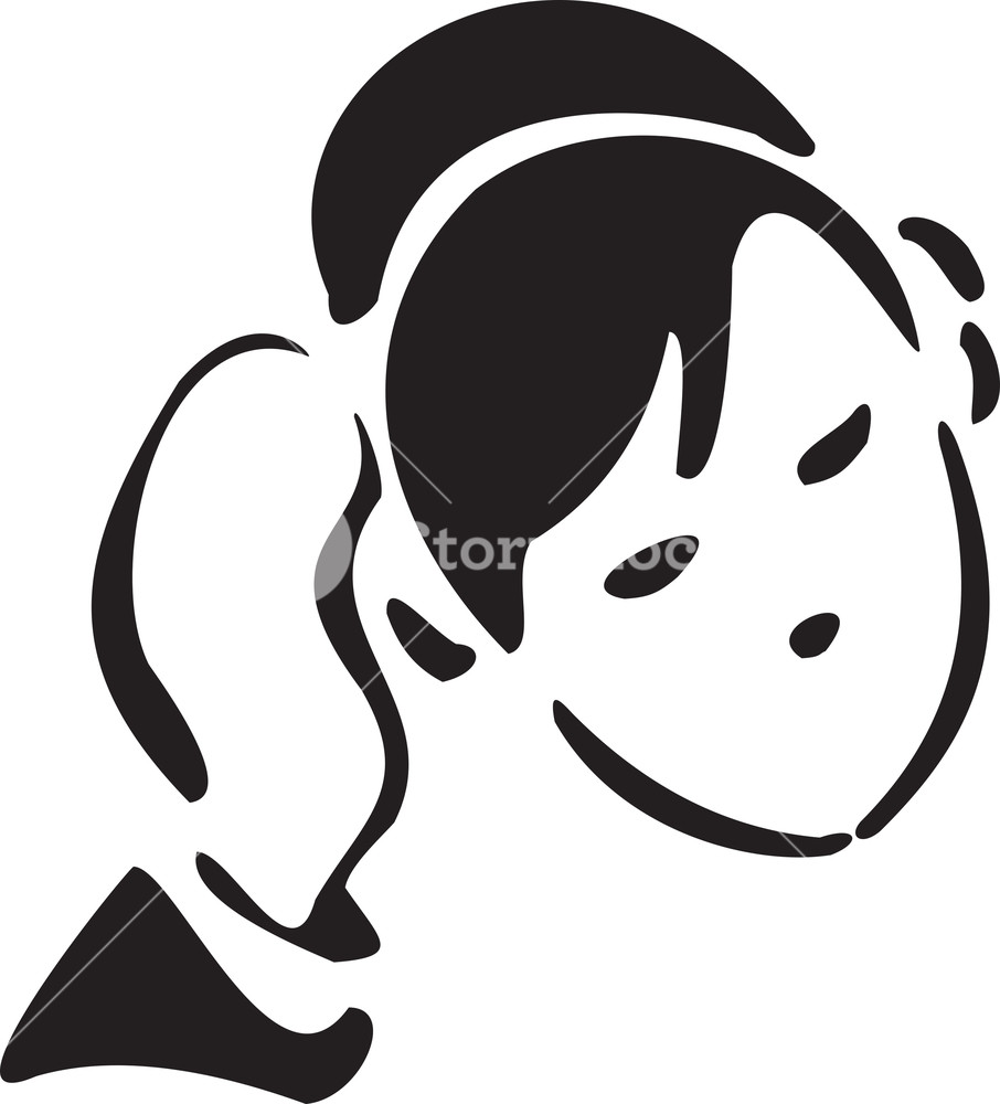 Illustration Of A Detective Listening Through Headphone.