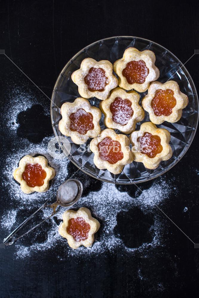 Jelly Cookies Flower Shape