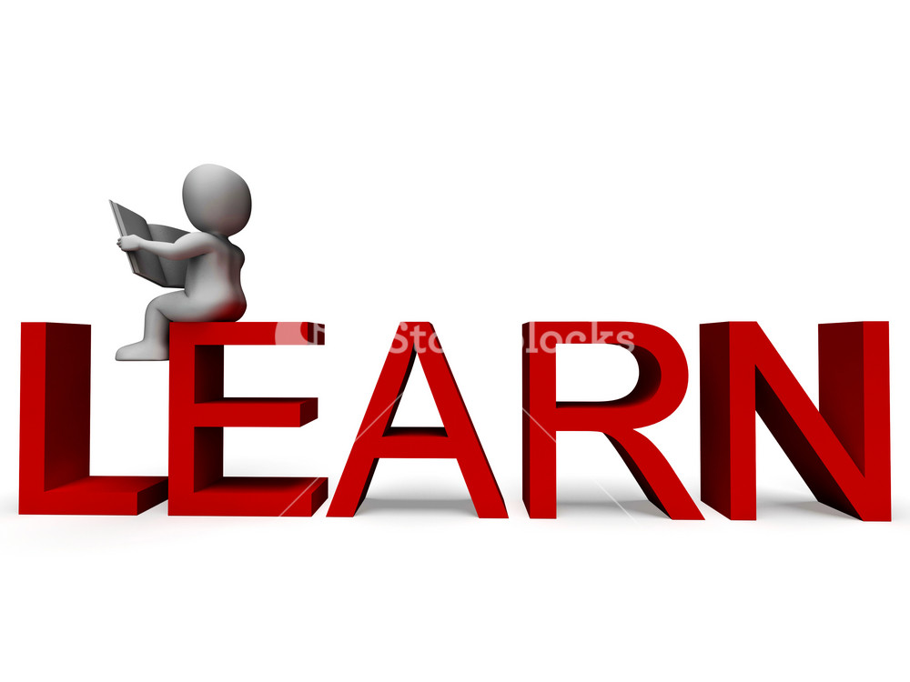 Learn Word Showing Education Or Study
