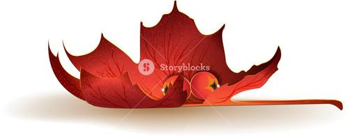 Leaves Vector Element