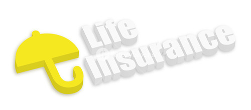 Life Insurance With Umbrella Icon