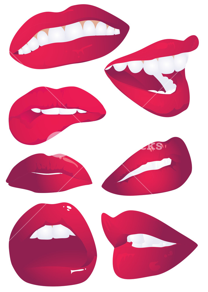 Lips Expression.