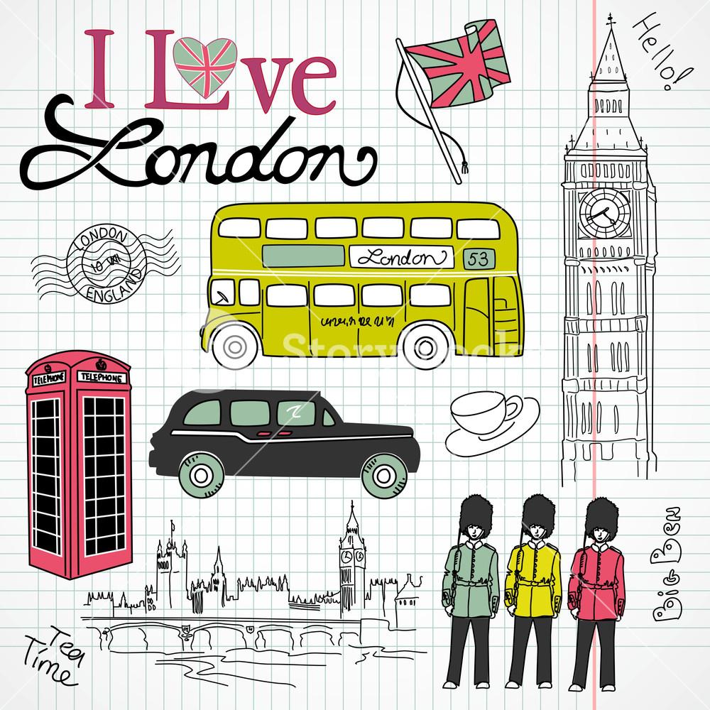 London Doodles