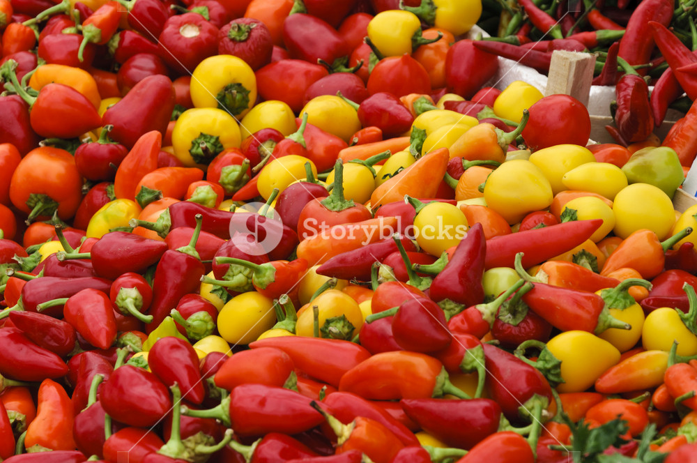 Lot Of Peppers