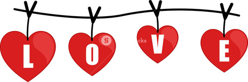 Love Alphabets On A Wire
