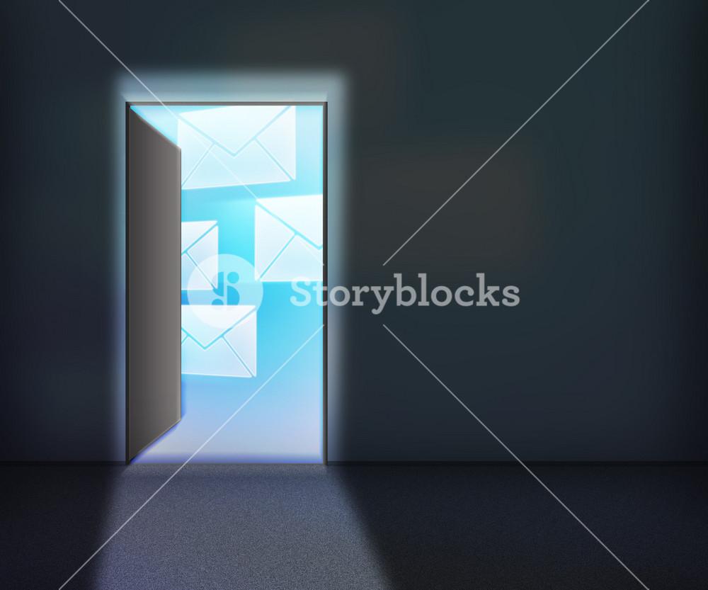 Mail For Open Door Backgroundopen Door Background