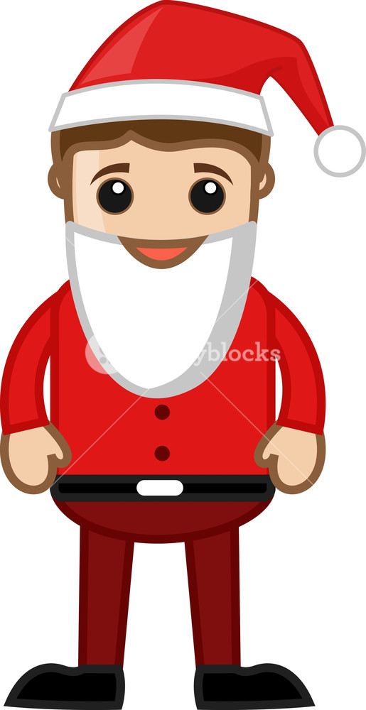 man in santa costume on christmas cartoon business characters royalty free stock image storyblocks https www storyblocks com business solution license comparison