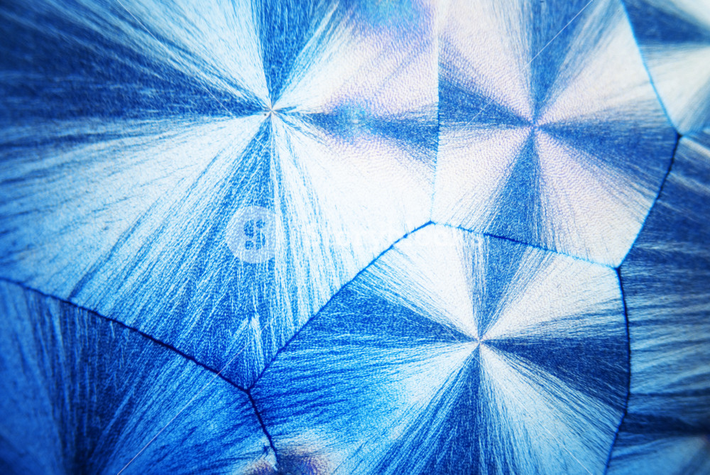 Microcrystals Of Ascorbic Acid In Polarized Light