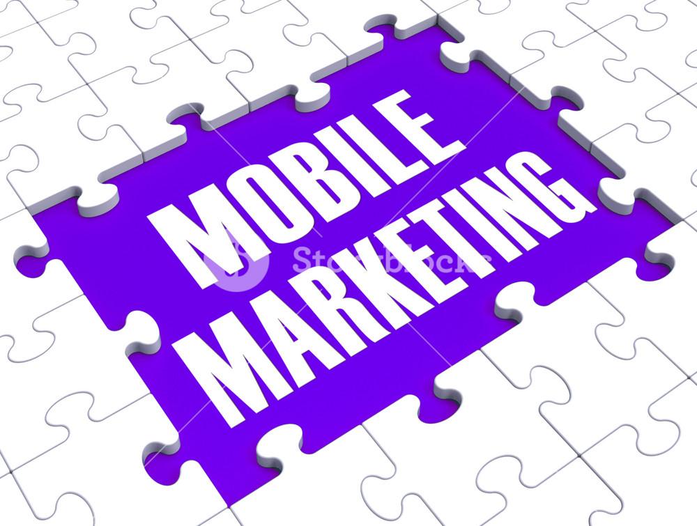 Mobile Marketing Shows Online Commerce