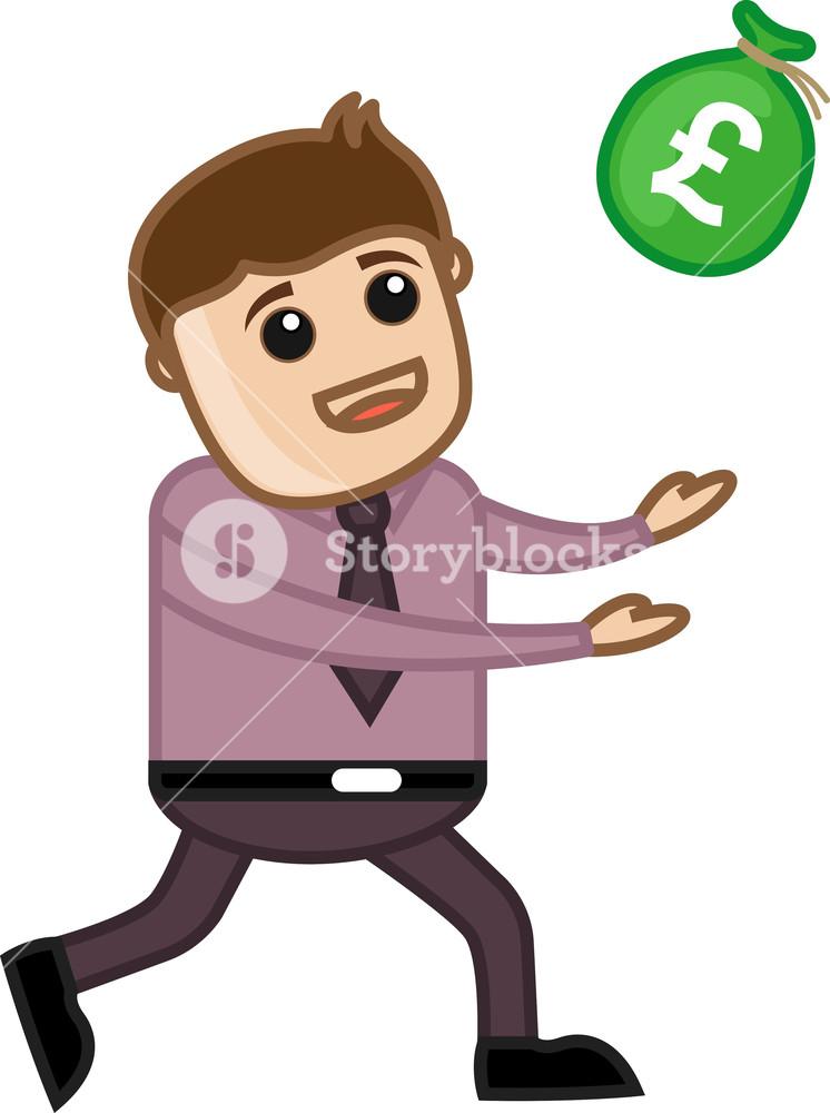 Money Coming - Vector Illustration
