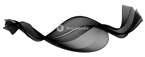 Motion Black Wave Lines Background