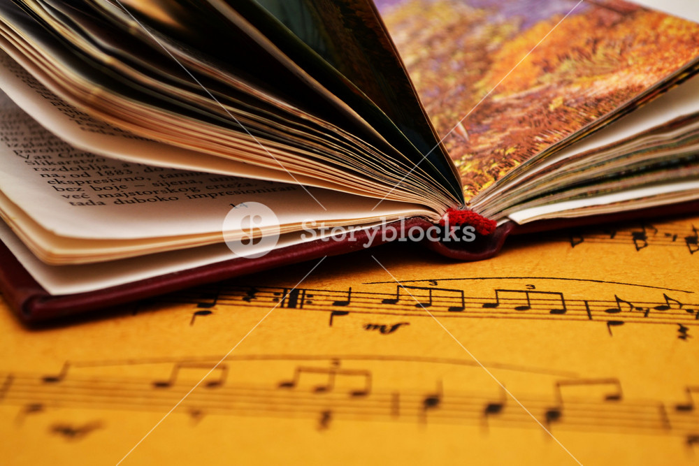 Music Sheet And Book