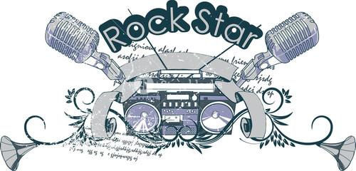 Music Vector T-shirt Design
