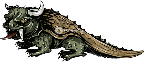 Mythical Creature Vector Element