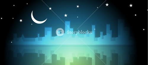 Night Scene Skyline