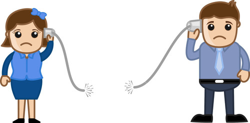 No Connectivity Concept - Vector Illustration