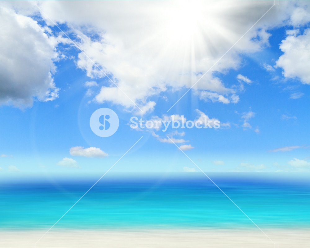Ocean And Perfect Sky