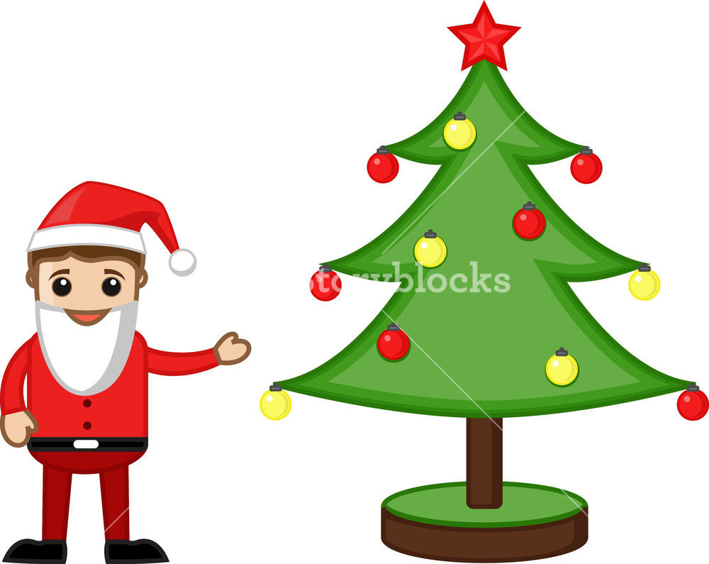 Office Man In Santa Costume With Christmas Tree Cartoon Business Characters Royalty Free Stock Image Storyblocks Download a free preview or high quality adobe illustrator ai, eps, pdf and high resolution jpeg versions. https www storyblocks com business solution license comparison