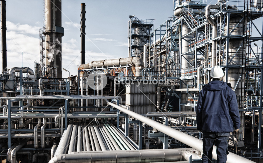 oil and gas refinery industry