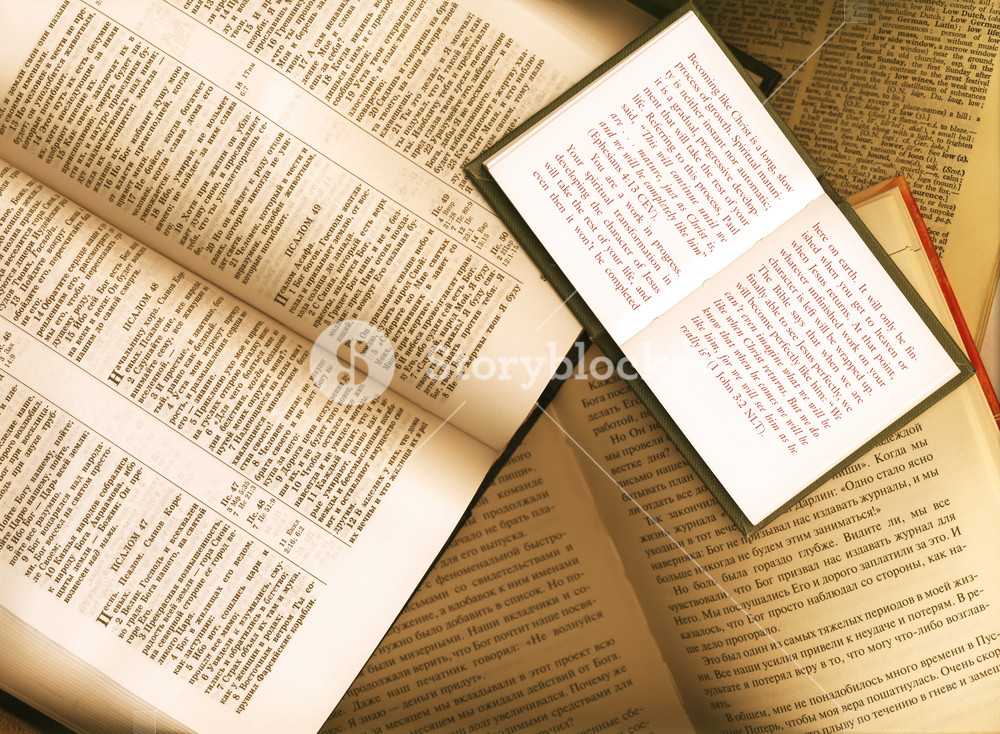 Open Books Background
