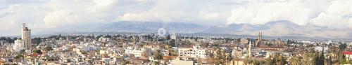Panoramic Image Of Nicosia City